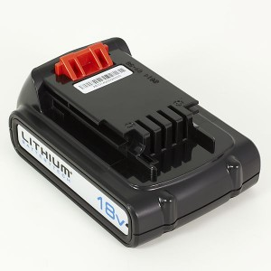 Batteri, Black & Decker, 18v 2aH