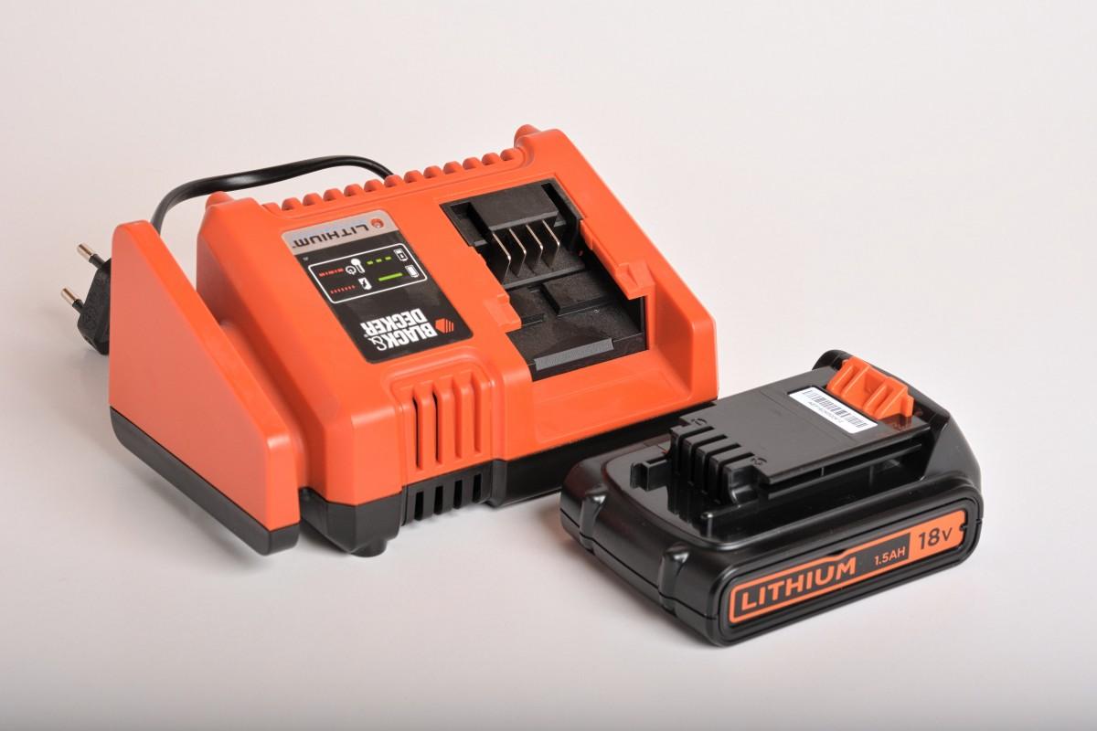 Mega Køb Black & Decker batteri & lader EZ54