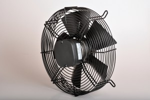 Køleventilator, 400 mm, 160w, 240v, sugende
